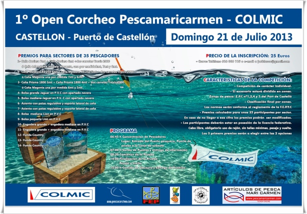Cartel corcheo Castellon