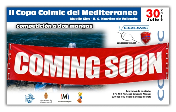 Cartel II Copa del Mediterraneo